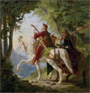 poster-minnesaenger-mit-seinem-knappen-1867-223886
